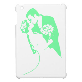 Bride and Groom 01 Light Green Case For The iPad Mini
