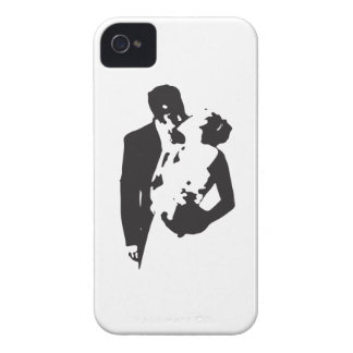 Bride and Groom 2 iPhone 4 Cases