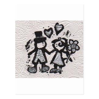 Bride and Groom 3 Postcard