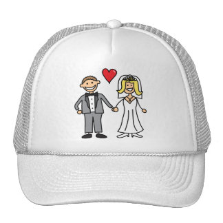 Bride And Groom (Add Your Own Text) Cap
