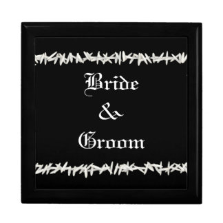 Bride and Groom Box Large Square Gift Box