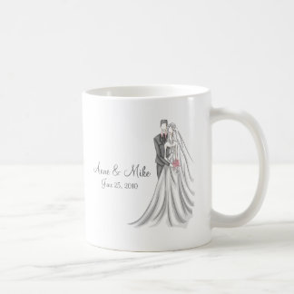 Bride and Groom Coffee Mug