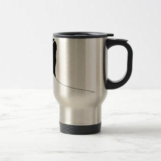 Bride and Groom Couple Wedding Silhouette Travel Mug
