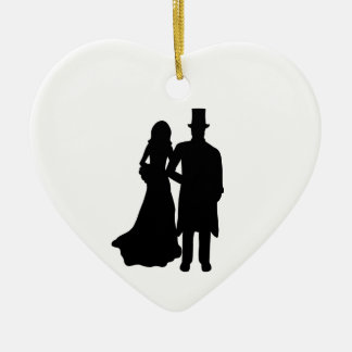 Bride and Groom Ornaments