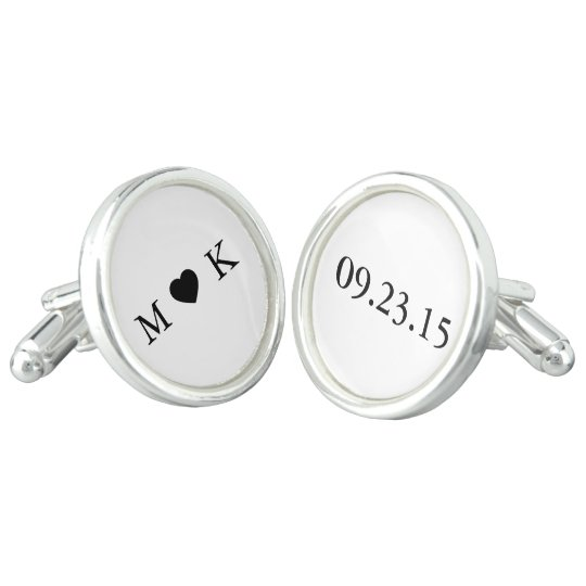 Bride and Groom Monogram - Simple Elegant Wedding