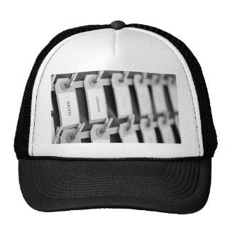Bride and Groom Nametags Trucker Hats