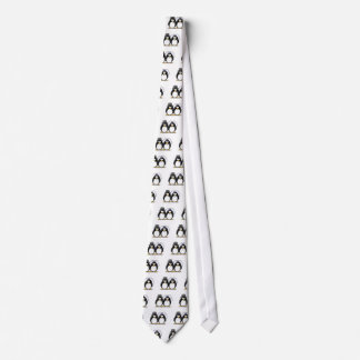 Bride and Groom Penguins Tie