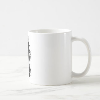 Bride and Groom Silhouette Wedding Concept Coffee Mug