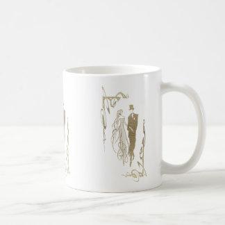 Bride and Groom Wedding & Anniversary Art Gifts Coffee Mugs