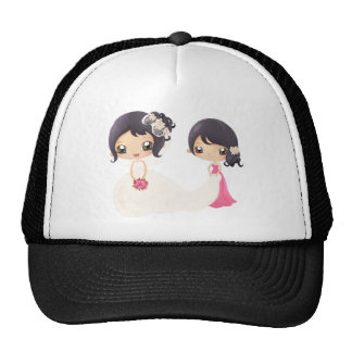 Bride and Maid of Honor Trucker Hats