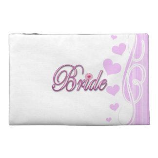 bride bachelorette wedding bridal shower party travel accessory bags