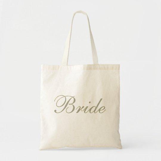 Bride Bag-Diamond Pattern with Gold Stroke