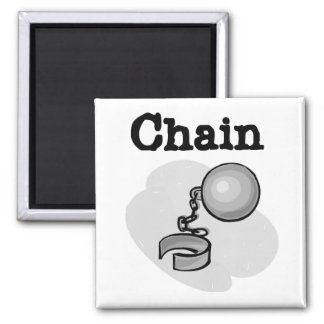 Bride Ball and Chain Tshirts and Gifts Square Magnet