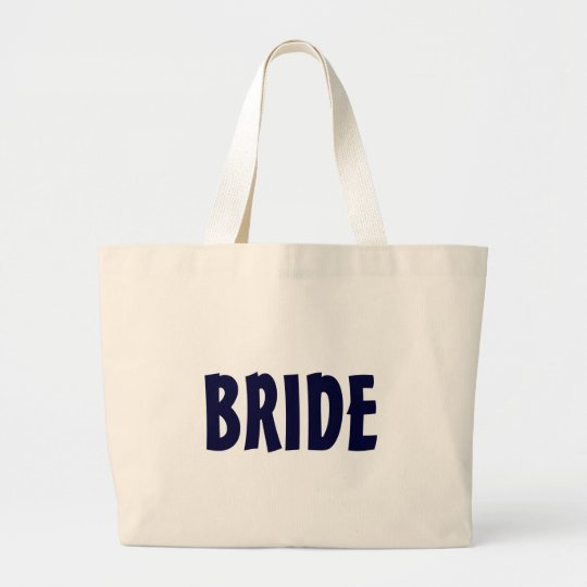 """BRIDE"" beach bag"