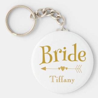 Bride Beautiful Wedding Memento Key Ring