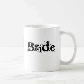 Bride Black Text Classic White Coffee Mug