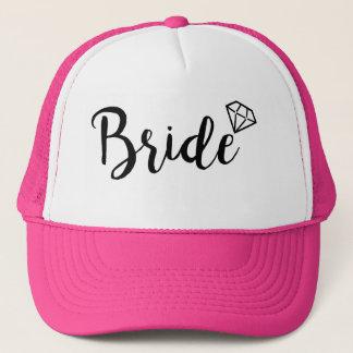Bride Bling Diamond Trucker Hat