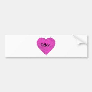 Bride Bumper Stickers