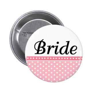 Bride Buttons Favors