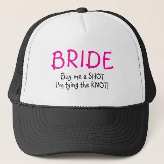 Bride (Buy Me A Shot Im Tying The Knot) Trucker Hat