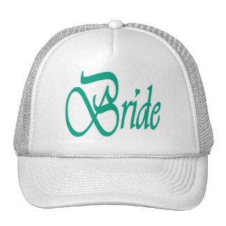 Bride Cap Mesh Hat
