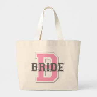 Bride Cheer Large Tote Bag