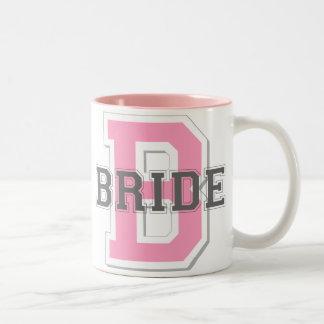 Bride Cheer Two-Tone Coffee Mug