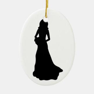 Bride. Christmas Ornament