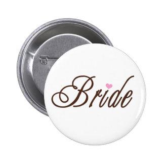 Bride Classy Browns Button