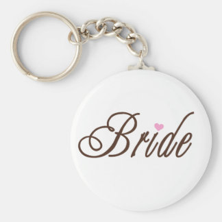 Bride Classy Browns Keychains
