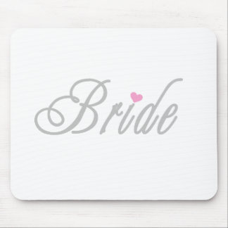 Bride Classy Grays Mouse Pads