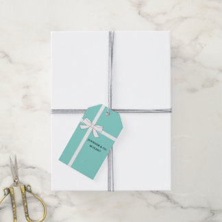 BRIDE & CO Bride To Be Personalized Gift Tags