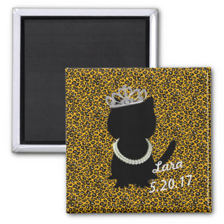 BRIDE & CO. Darling Tiara Cat Magnet