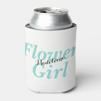 BRIDE & CO Flower Girl Party Insulated Can Cooler