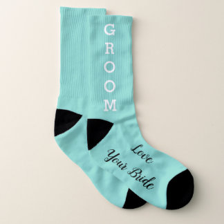BRIDE & CO Groom Wedding Bridal Party Socks 1
