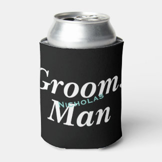 BRIDE & CO Groomsman Party Insulated Can Cooler