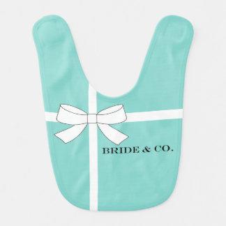 BRIDE & CO Shower Party Favor Baby Bib