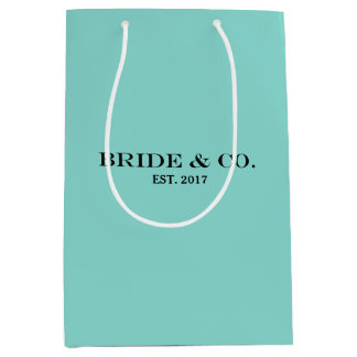 BRIDE & CO Shower Personalize Party Gift Bag