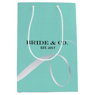 BRIDE & CO Shower Ribbon Party Gift Bag