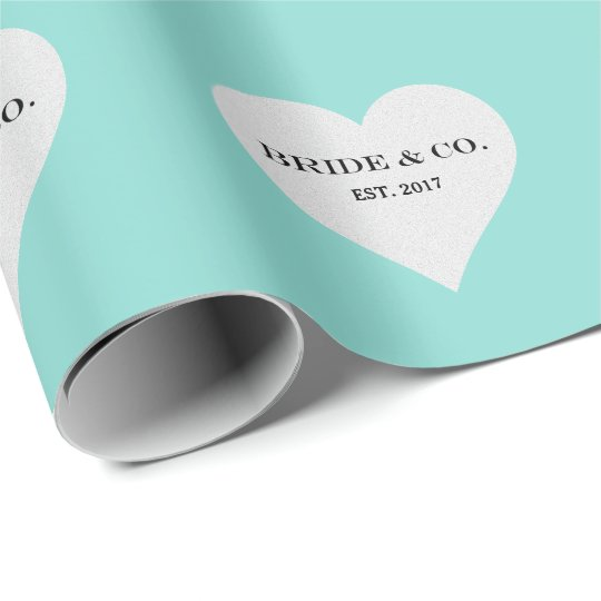 BRIDE & CO Teal Blue Tiffany Party Wrapping