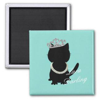 BRIDE & CO. Tiara Cat Darling Magnet