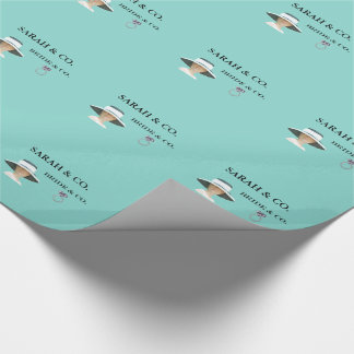 BRIDE & CO. Tiffany Party Personalize Gift Wrap Wrapping Paper