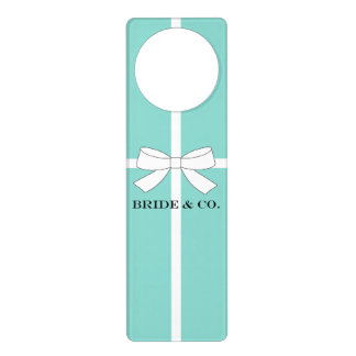 BRIDE & CO. Tiffany Theme Door Hanger