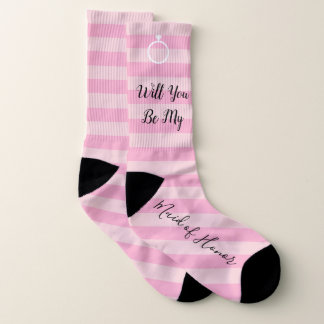 BRIDE & CO Will You Be My Maid Of Honor Sock 1