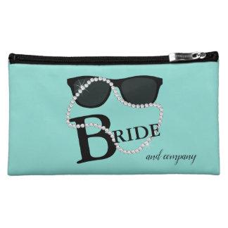 Bride & Company Diamond Tiara Party Cosmetic Bag
