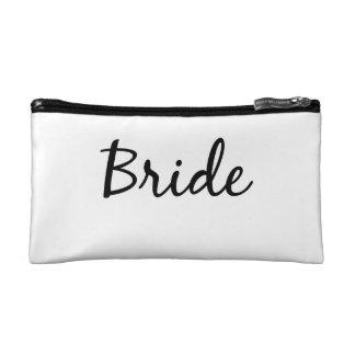 Bride cosmetics bag cosmetics bags