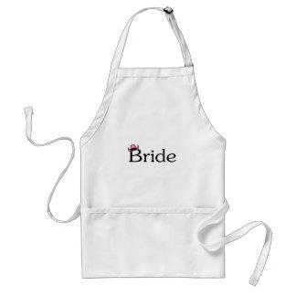 Bride (Cowboy Hat) Standard Apron