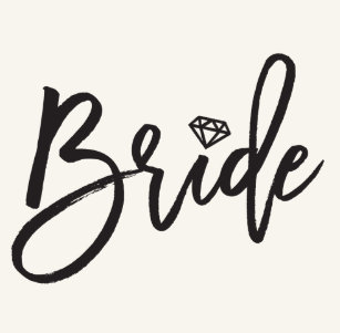 70292012c19fe Bride Diamonds Bridal Party Wedding Flip Flops