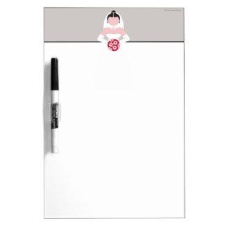 Bride Dry Erase Board