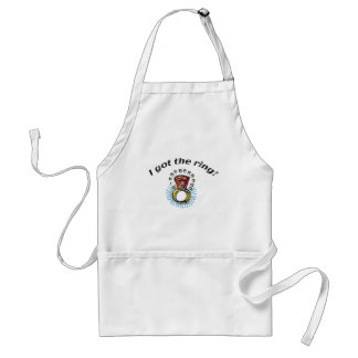 Bride Engagement Gifts and T-shirts Aprons
